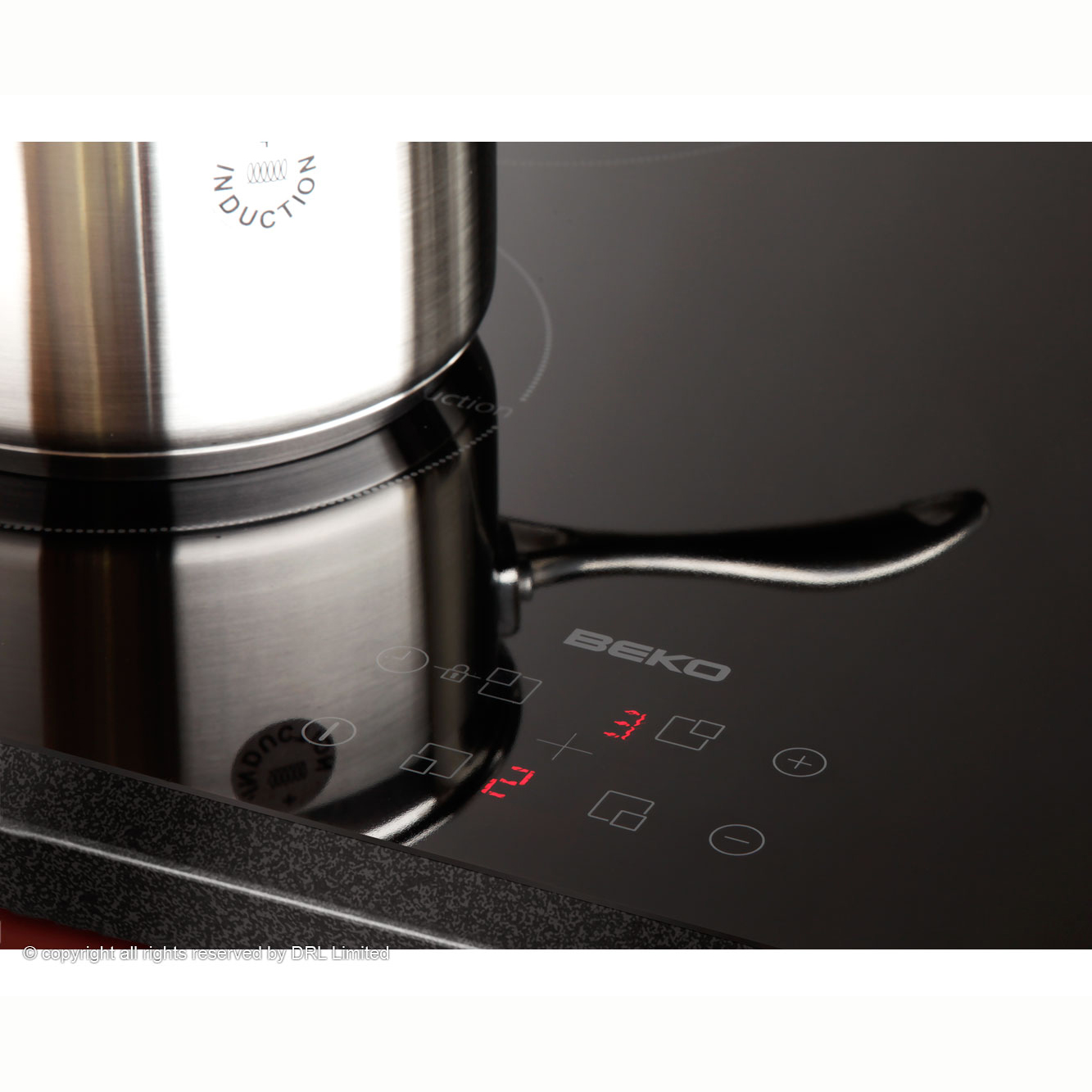 Beko Coffee Maker Red Light : POWERCITY - HII64400AT BEKO 60CM INDUCTION HOB Built_in Electric Hob