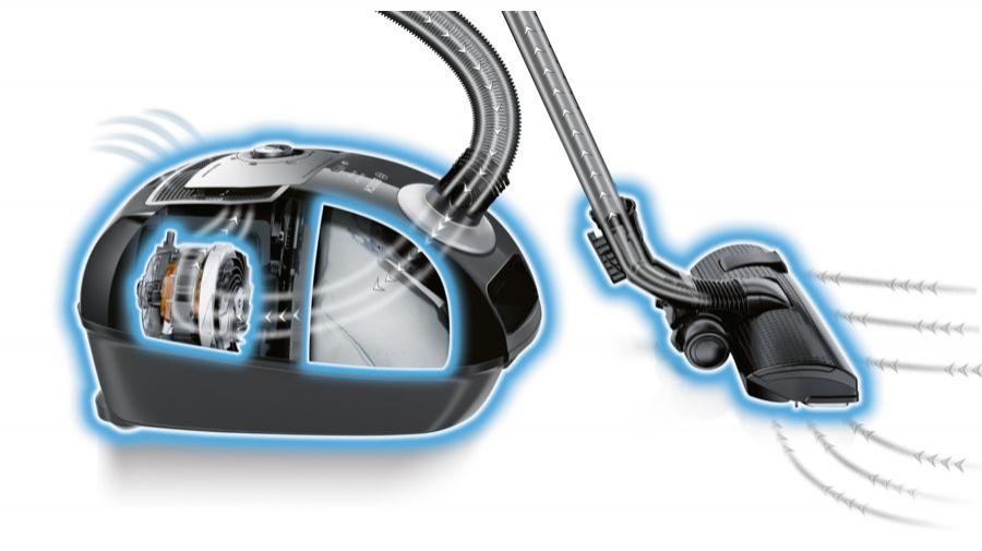 Powercity Bgl4s69agb Bosch Pro Silence Bagged Vacuum